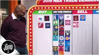 Download 2019 NBA trade deadline big board: Who should be buyers or sellers? | The Jump Video