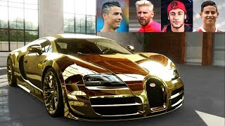 Download Top 10 Football Players Super Cars ★ 2017 Video