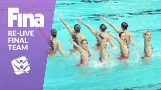 Download Re-Live - Final Team - FINA World Junior Synchronised Swimming Championships 2016 Video