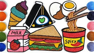 Download Menggambar Dan Mewarnai Toko makanan Untuk Anak-anak | Clay coloring Video
