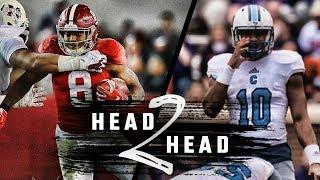 Download Head to Head: Alabama vs. The Citadel Video