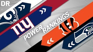 Download NFL Power Rankings Post 2018 Draft! | NFL Highlights Video