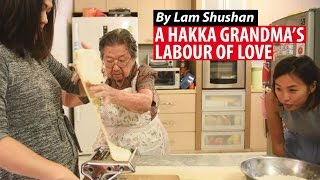 Download A Hakka Grandma's Labour of Love, In A Bowl Of Handmade Noodles Video