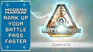 Download Modern Warfare: Rank Up The Battle Pass FAST (Season 1 Unlock Guide) Video