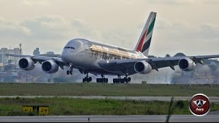 Download Voo Inaugural Emirates A380 – Primeiro pouso GRU. Video