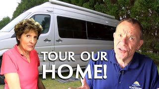 Download Welcome to our Home: A Tour of our Class B Motorhome Video