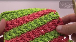 Download Crochet Star Stitch Video