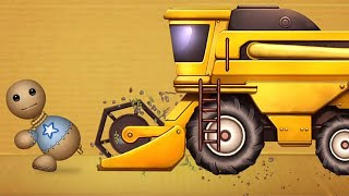 Download Harvester Truck Buddy vs The Buddy | Kick The Buddy Video