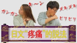 "Download 惊奇日本:日文""疼痛""的說法【日本語の痛みの表現は面白い】ビックリ日本 Video"