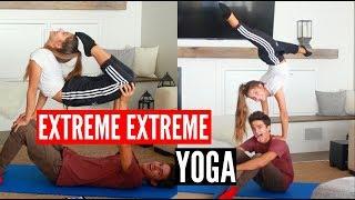 Download EXTREME YOGA CHALLENGE x2!   Brent Rivera Video