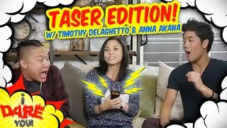 Download I Dare You: GETTING TASED! (ft. Timothy Delaghetto & Anna Akana) Video
