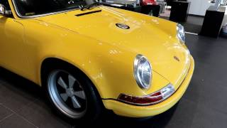 Download Lightest one of a kind SINGER Porsche Speed Yellow! Video