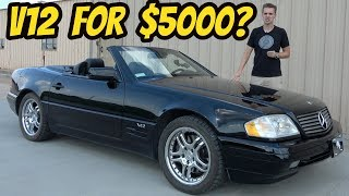 Download I Bought a Broken V12 Mercedes SL600 for only $5000 Video