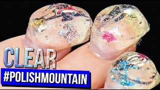 Download Return to #POLISHMOUNTAIN | The Clear Adventure | 100+ Coats of Nail Polish Video