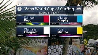 Download 2016 Vans World Cup: Round One, Heat 4 Video