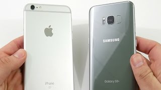 Download iPhone 6S Plus vs Galaxy S8 Plus! - Speed Test Video