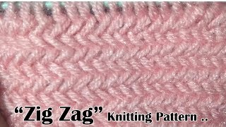 Download ZIG Zag Beautiful Knitting pattern Design 2018 Video