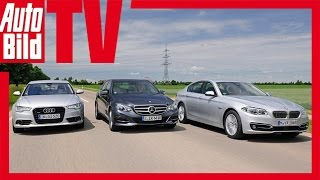 Download Audi A6 vs. Mercedes E 350 vs. BMW 530d Video
