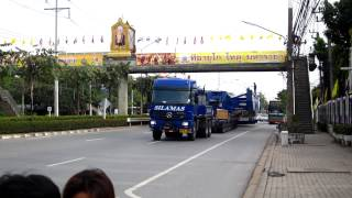 Download Silamas transport THAILAND, Inland transport for wangnoi power plant. Video