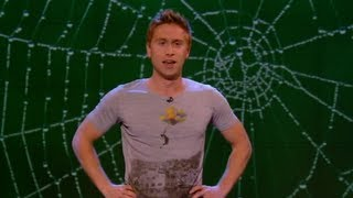 Download Golden cape made of spider silk - Russell Howard's Good News - Series 6 Episode 4 - BBC Three Video