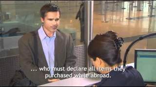 Download Customs & Border Protection - Entering the U.S. Video