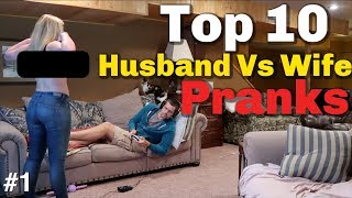 Download TOP 10 HUSBAND VS WIFE PRANKS OF 2018 -Youtube Rewind Video