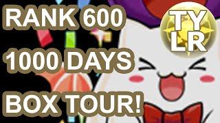 Download [Puzzle & Dragons] 1000 Days & Rank 600 Box Tour Video