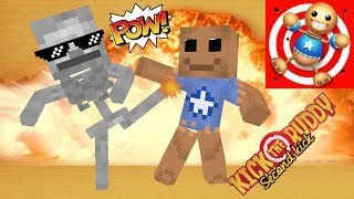 Download Monster School : KICK THE BUDDY GAME CHALLENGE II - Minecraft Animation Video