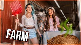 Download Twins Try Working on a Farm Video