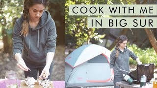 Download Cook Dinner With Me in Big Sur! Vegan Zero Waste Camping | Alli Cherry Video
