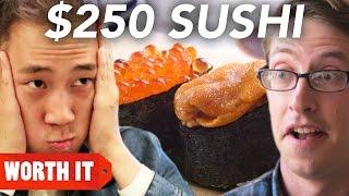 Download $3 Sushi Vs. $250 Sushi Video