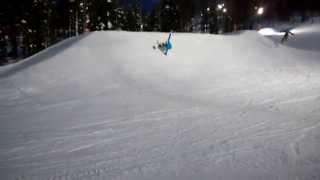 Download Snowsurf cutback Video