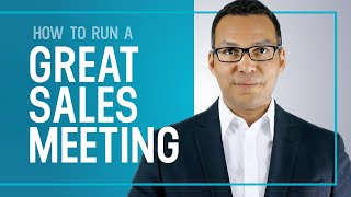 Download How To Run a Great Sales Meeting - Sales Training Tips Video