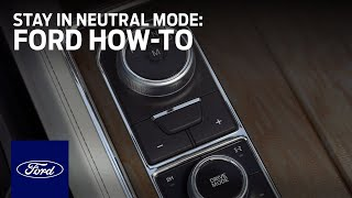 Download Rotary Gear Shift Dial with Stay in Neutral Mode | Ford How-To | Ford Video