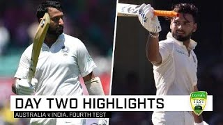 Download Pujara and Pant pile on the pain | Fourth Domain Test Video