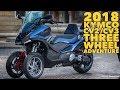 Download 2018 KYMCO C Series CV2 / CV3: three wheel ADV Video