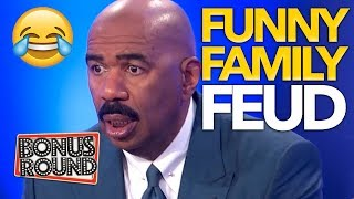 Download FUNNY FAMILY FEUD Moments With Steve Harvey | Bonus Round Video