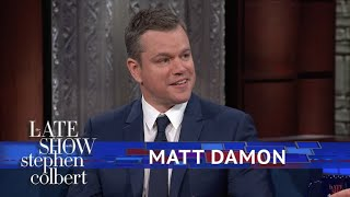 Download Matt Damon Explains Why 'Good Will Hunting' Has So Much Cursing Video