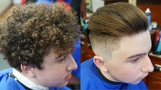 Download Makeover Barber Tutorial: Curly Hair with Skin Fade Undercut Video