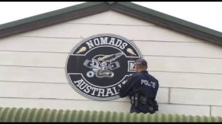 Download Police raid on Nomads clubhouse at Muswellbrook Video