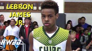 Download Lebron James Jr. VS Everybody!   6th Grader Bronny is SMOOTH!! Video