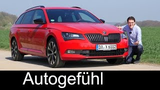 Download The Superb RS?! Skoda Superb SportLine FULL REVIEW Combi test driven 280 hp AWD Video