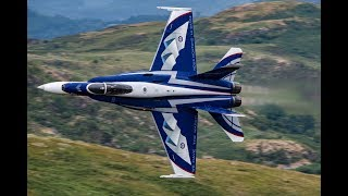 Download Canada's NORAD Tribute CF-18 Visits MACH LOOP, COCKPIT VIEW!! Video