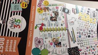 Download Flip Thru of New Happy Planner TINY Sticker Book Video