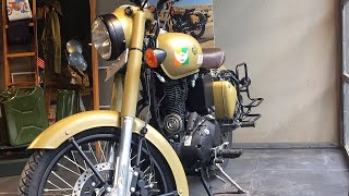 Download YES!!! ABS and fuel indicator on Royal Enfield Classic 350cc with New colours | Signal | Video