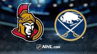 Download Lehner, Sabres blank Senators, 4-0 Video