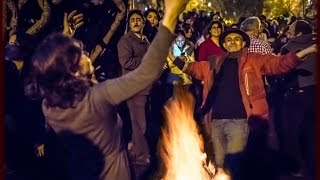 Download Chaharshanbeh Suri (Soori) - Iranian/Persian Fire Festival, NYC 2016, Village Voice News Video