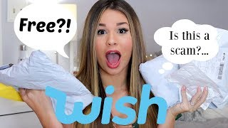 Download Huge & Successful Wish Haul! Free Items?! Video
