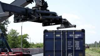 Download Transport towarów koleją - transport intermodalny Video