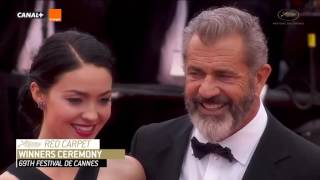 Download Mel Gibson and Rosalind Ross on the Red Carpet Cannes 2016 Closing Ceremony Video